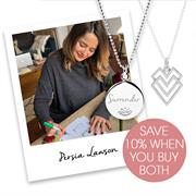 Buy Persia Lawson Necklace Set | Hearts and Surrender Necklace | Sterling Silver