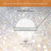 Buy Holly Matthews Unbreakable Bar Necklace