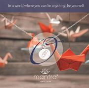 Initial O Necklace from Mantra Jewellery