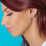 mantra jewellery feather stud earrings