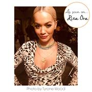 Rita Ora wearing Mantra Jewellery
