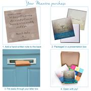 Letterbox friendly Mantra packaging