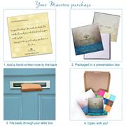 Mantra letterbox size packaging