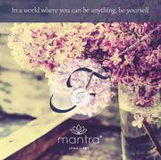 F Initial Necklace from Mantra Jewellery