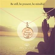 Still, Present, Mindful Yoga Necklace
