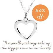 Buy Heart Necklace in Sterling Silver