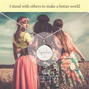 Together to Make a Better World Charity Necklace