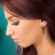 Sterling Silver Guardian Angel Gift Earrings