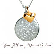 Valentine Love Mantra Necklace