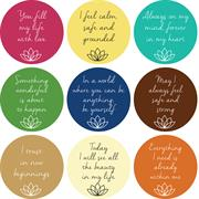 Mantra Stickers Set B