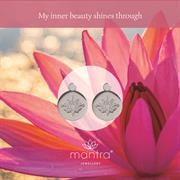 Lotus Earrings for mindfulness
