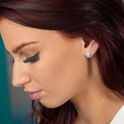 Buy Rose Earrings | Sterling Silver