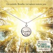 Breathe Charity Necklace