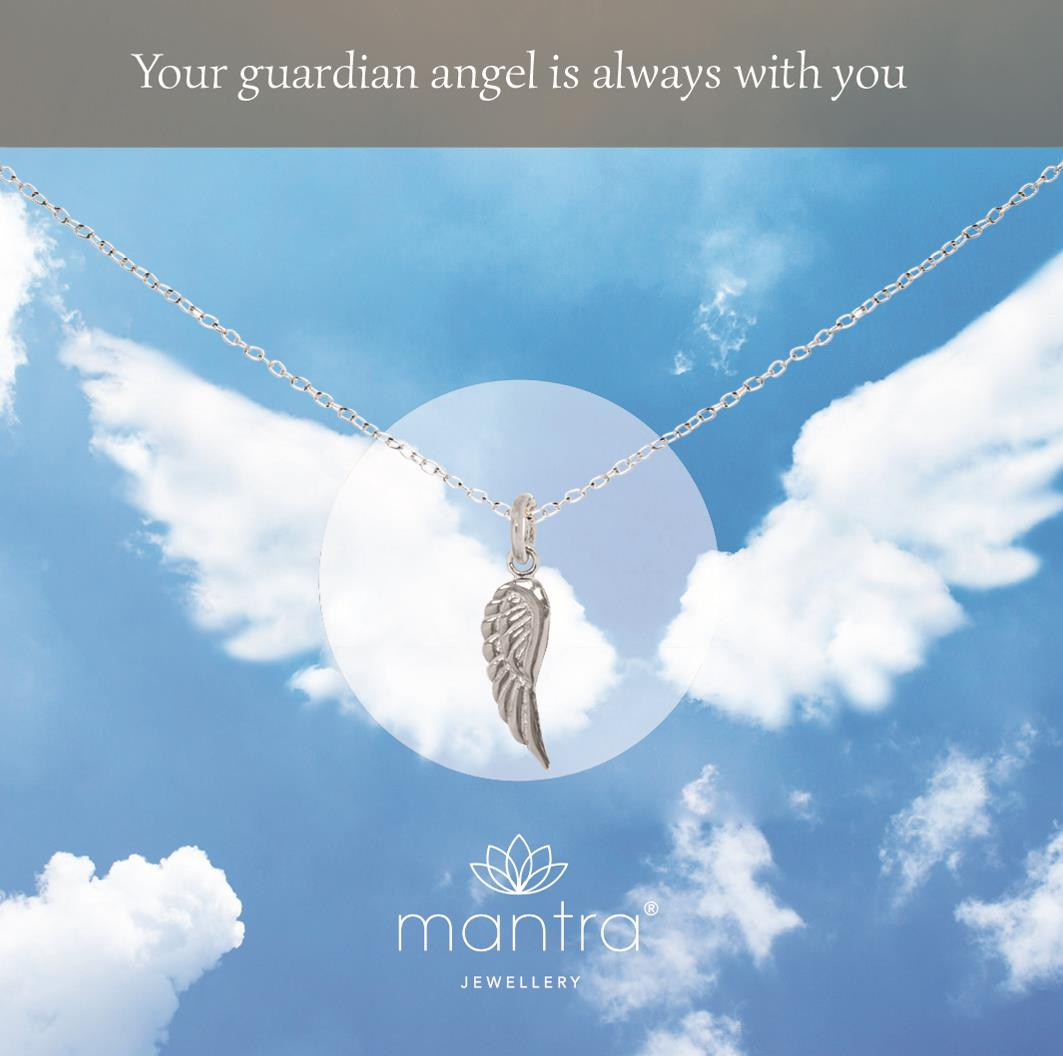 all pendant very rhinestone necklace you times own safe at your and to keep watch over guardian have silhouette angel