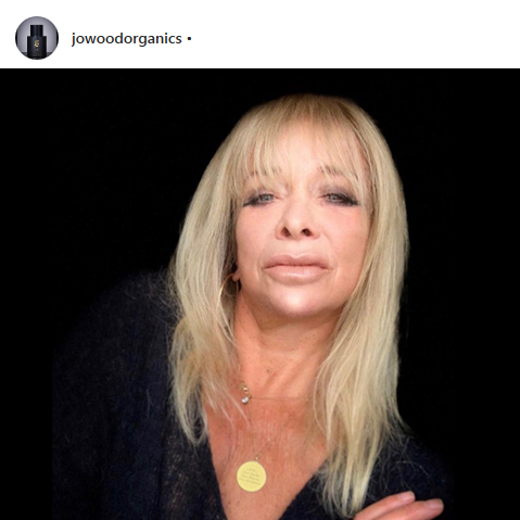 Jo Wood wearing Leah Wood myMantra Necklace
