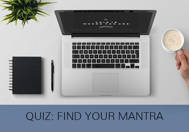 quiz to find your Mantra